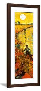 The Red Vineyard at Arles, c.1888 (detail) by Vincent van Gogh