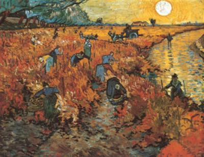 The Red Vineyard at Arles, c.1888