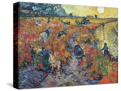 The Red Vineyards at Arles, 1888