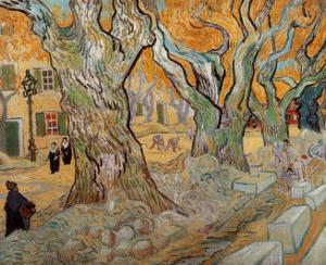 The Road Menders, c.1889 by Vincent van Gogh