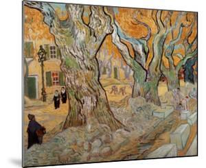 The Road Menders, c.1889 by Vincent van Gogh