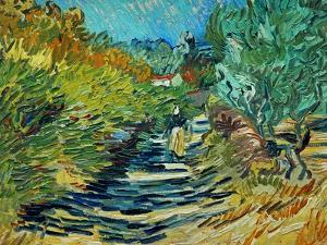 The Road to Saint-Remy, c.1890 by Vincent van Gogh