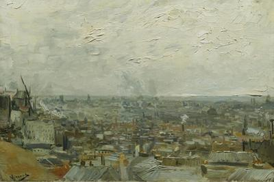 The Roofs of Paris, 1886 by Vincent van Gogh