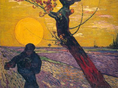 The Sower at Sunset, 1888