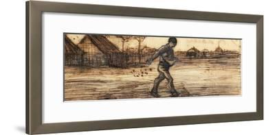 The Sower, from a Series of Four Drawings Representing the Four Seasons