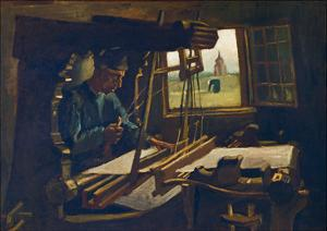 The Weaver, 1884 by Vincent van Gogh
