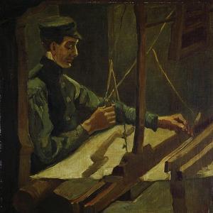 The Weaver Drieck Dekkers, 1884 by Vincent van Gogh