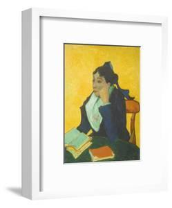 The Woman from Arles (L'Arlésienne) - Madame Marie Julien Ginoux by Vincent van Gogh