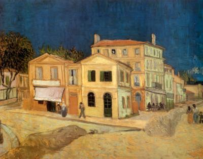 The Yellow House at Arles, c.1889