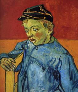 The Young Boy, Camille Roulin by Vincent van Gogh