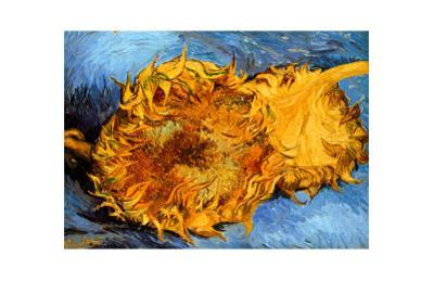 Two Cut Sunflowers, c.1887
