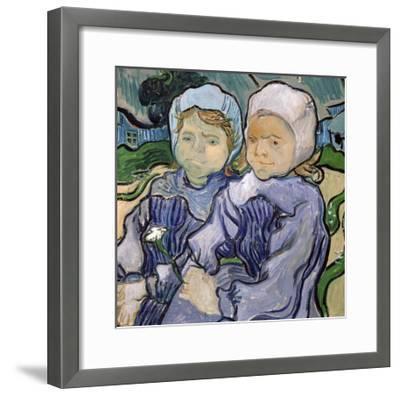 Two Little Girls, c.1890