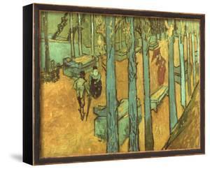 Van Gogh: Alyscamps, 1888 by Vincent van Gogh