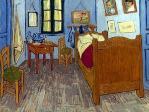 Van Gogh: Bedroom, 1889 by Vincent van Gogh