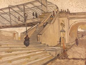 Van Gogh: Bridge, 1888 by Vincent van Gogh