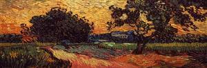 Van Gogh: Castle, 1890 by Vincent van Gogh