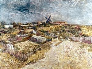 Van Gogh: Gardens, 1887 by Vincent van Gogh