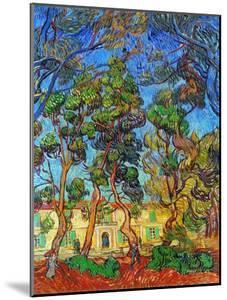 Van Gogh: Hospital, 1889 by Vincent van Gogh