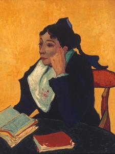 Van Gogh: L'Arlesienne, 1888 by Vincent van Gogh