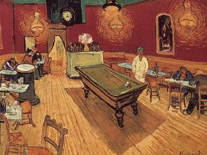 Van Gogh: Night Cafe, 1888 by Vincent van Gogh