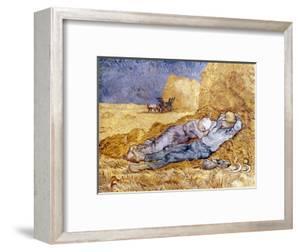 Van Gogh: Noon Nap, 1889-90 by Vincent van Gogh