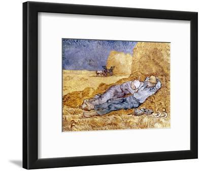 Van Gogh: Noon Nap, 1889-90