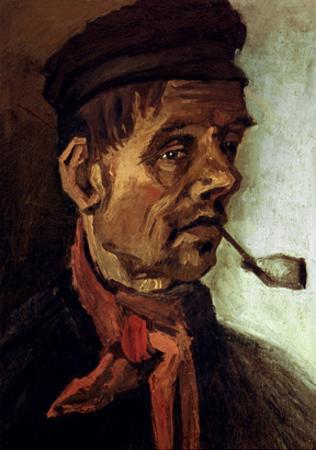 Van Gogh: Peasant, 1884