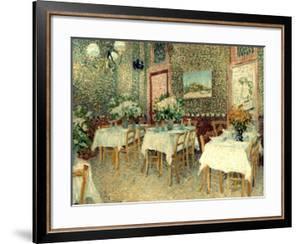 Van Gogh: Restaurant, 1887 by Vincent van Gogh