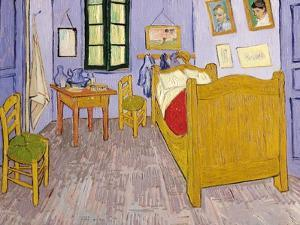 Van Gogh's Bedroom at Arles, 1889 by Vincent van Gogh