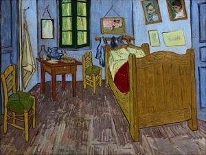 Van Gogh's Bedroom by Vincent van Gogh