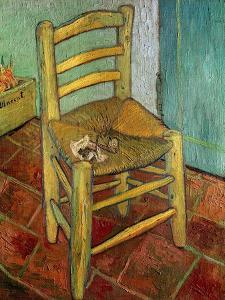 Van Gogh's Chair, c.1888 by Vincent van Gogh