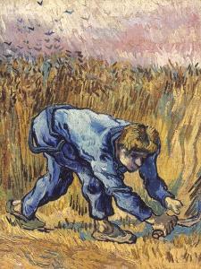 Van Gogh: The Reaper, 1889 by Vincent van Gogh