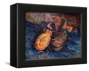 Van Gogh: The Shoes, 1887 by Vincent van Gogh