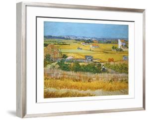 Van Gogh: Wheatfield, 1888 by Vincent van Gogh