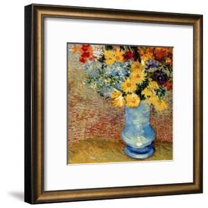 Vase Avec Bouquets De Fleurs by Vincent van Gogh