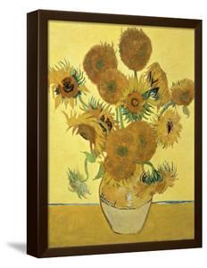 Vase of Fifteen Sunflowers, c.1888 by Vincent van Gogh