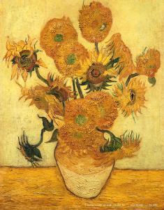 Vase of Fifteen Sunflowers, c.1889 by Vincent van Gogh