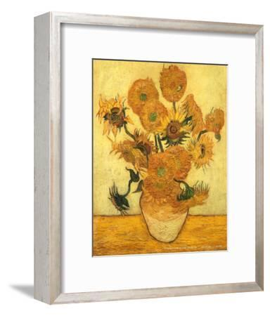 Vase of Fifteen Sunflowers, c.1889