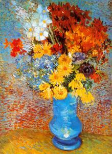 Vase of Flowers, c.1887 by Vincent van Gogh