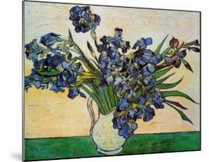 Vase of Irises, c.1890 by Vincent van Gogh