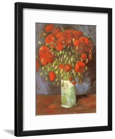 Vase of Poppies, 1886 by Vincent van Gogh
