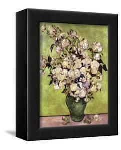 Vase of Roses by Vincent van Gogh