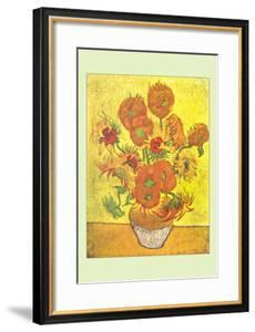 Vase with Fourteen Sunflowers by Vincent van Gogh