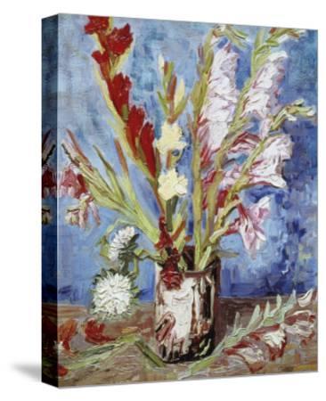 Vase with Gladioli by Vincent van Gogh