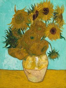 Vase with Sunflowers, 1888 by Vincent van Gogh
