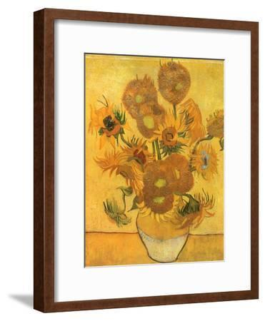 Vase with Sunflowers, 1889