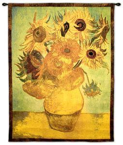 Vase with Twelve Sunflowers, c.1889 by Vincent van Gogh