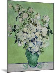 Vase with White Roses, 1890 by Vincent van Gogh