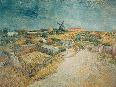 Vegetable Gardens on Montmartre by Vincent van Gogh