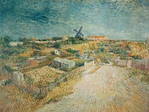 Vegetable Gardens on Montmartre by Vincent van Gogh